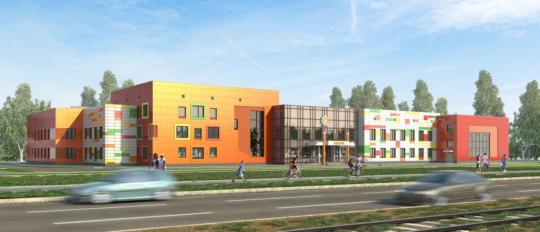 Проект детского реабилитационного центра в Ижевске. Фото:belkamneft.ru