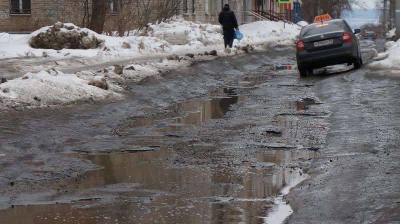 Наремонт ижевских дорог втекущем году истратят 600 млн руб. ВИДЕО