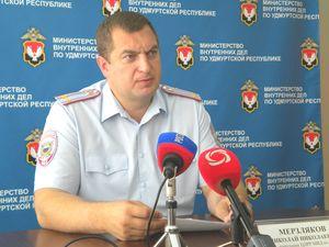 начальник ЦЛРР МВД по УР Николай Мерзляков (Фото: День.org)