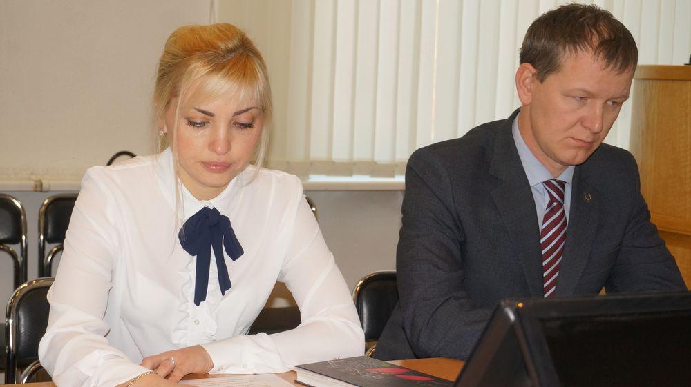 Наталья Брагина, Алексей Горбунов. Фото: ©«ДЕНЬ.org»
