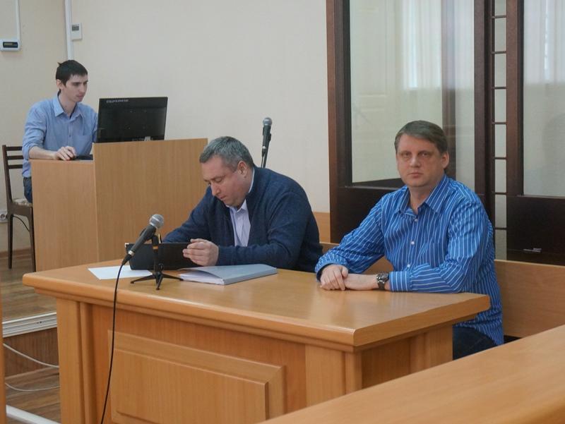 Алексей Кайгородов и его адвокат. Фото: © «ДЕНЬ.org»