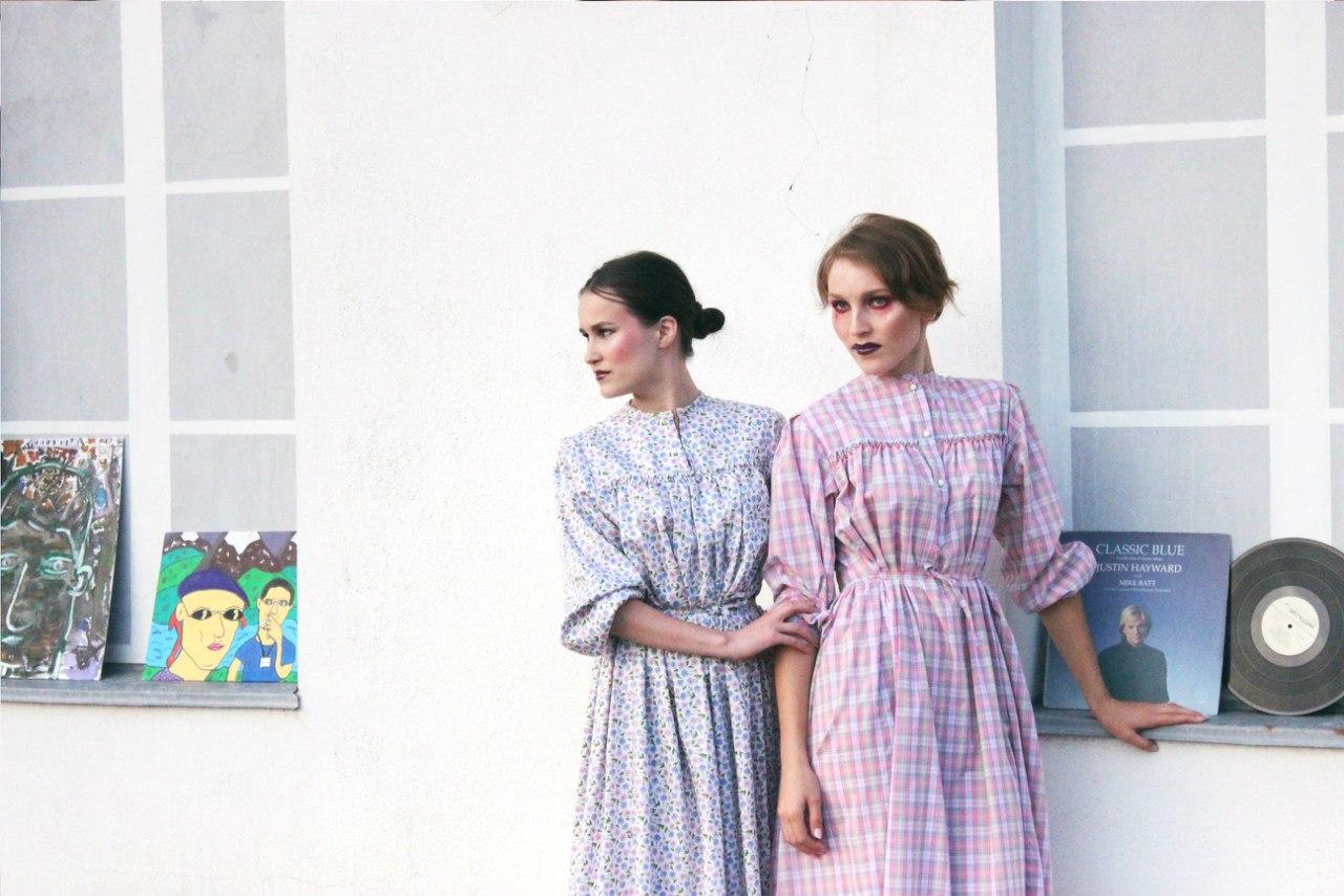 Платья от Москвиной. Фото: vk.com/elnyl2015