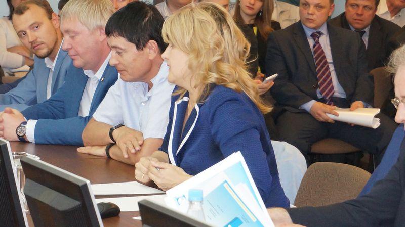 Елена Беляева слово «нет» за время слушаний сказала больше десяти раз. Фото: © «ДЕНЬ.org»