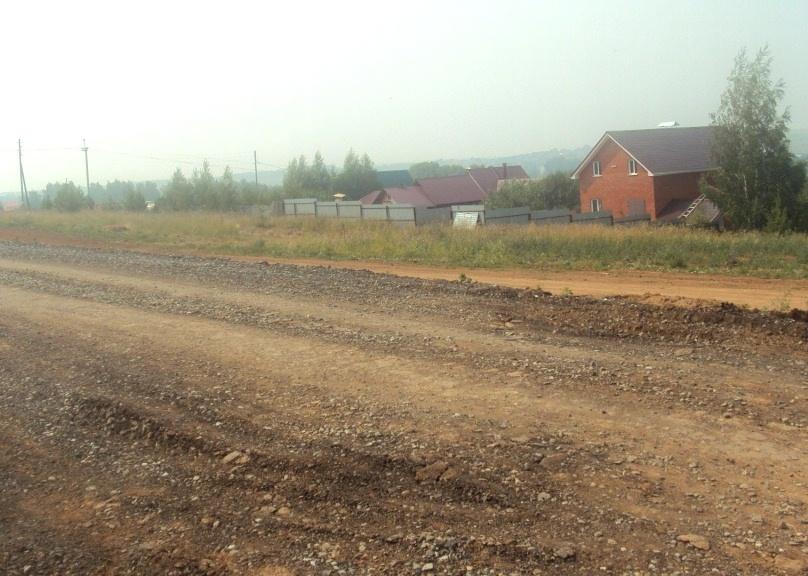 Дорога, которую недавно проложили. Микрорайон Люлли. Фото: «ДЕНЬ.org»