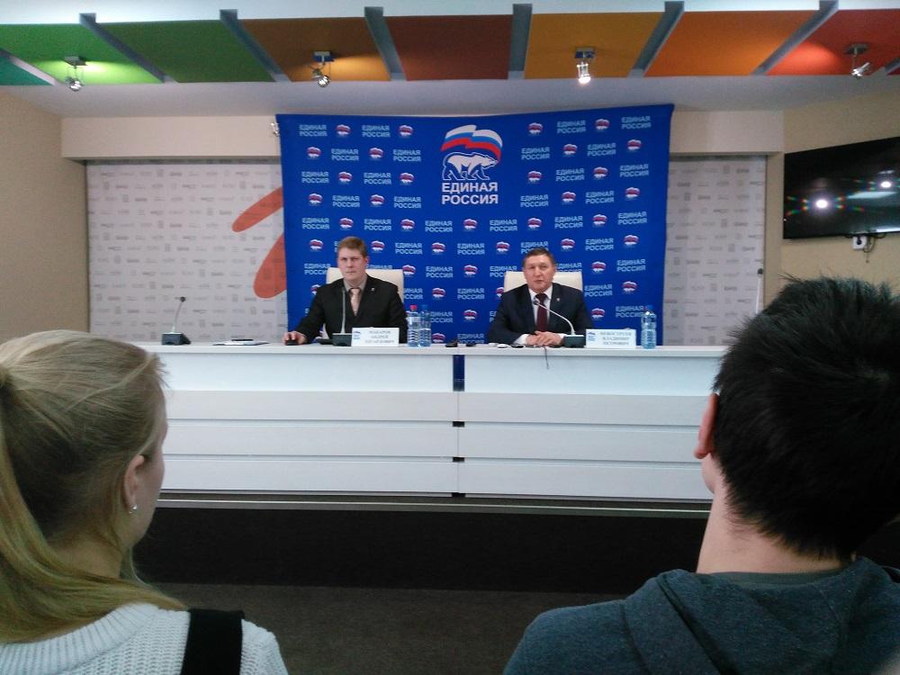 Андрей Макаров и Владимир Невоструев. Фото: © «ДЕНЬ.org»