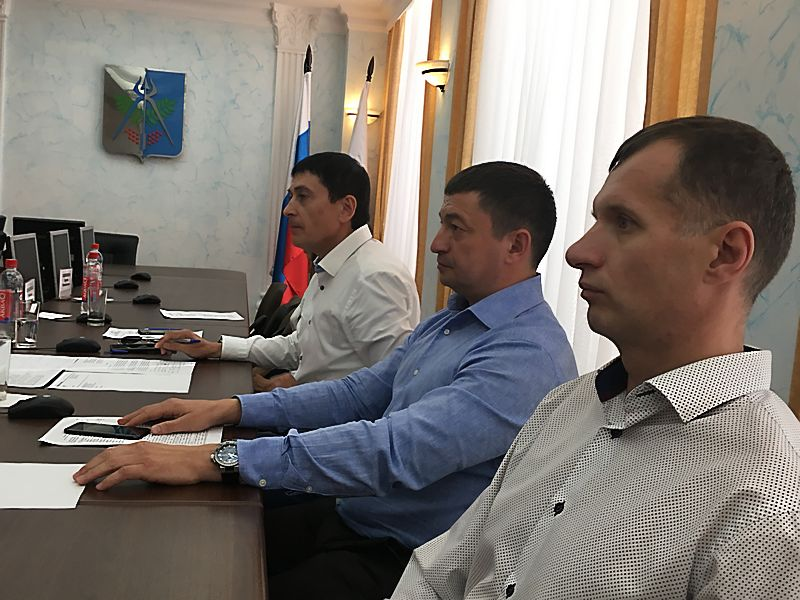 Депутаты гордумы Ижевска Альфред Зиннатуллин, Андрей Зюзин, Сергей Кривоногов