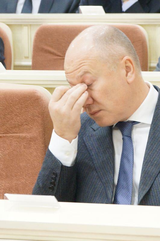 Депутат Госдумы РФ от ЛДПР Андрей Маркин. Фото: © «ДЕНЬ.org»