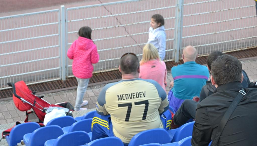 Персональные болельщики есть у Никиты Медведева в Ижевске. Фото: Александр Поскребышев