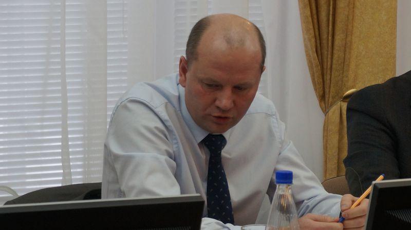 Дмитрий Кулишов был весьма эмоционален. Фото: ©«ДЕНЬ.org»