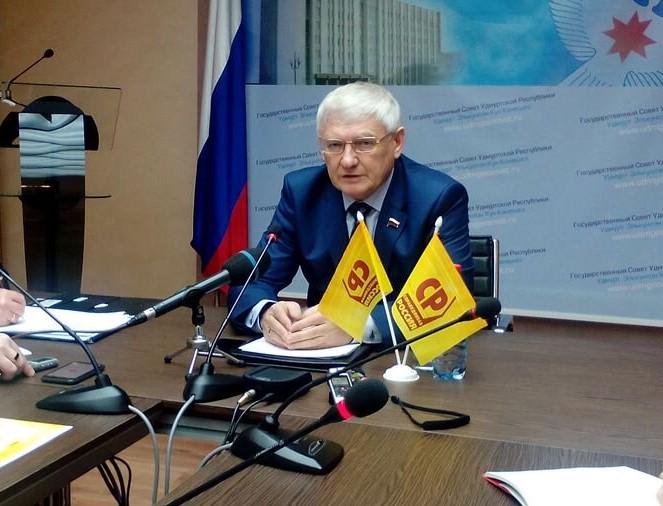 Виктор Шудегов покинул пост руководителя отделения партии «Справедливая Россия» в Удмуртии