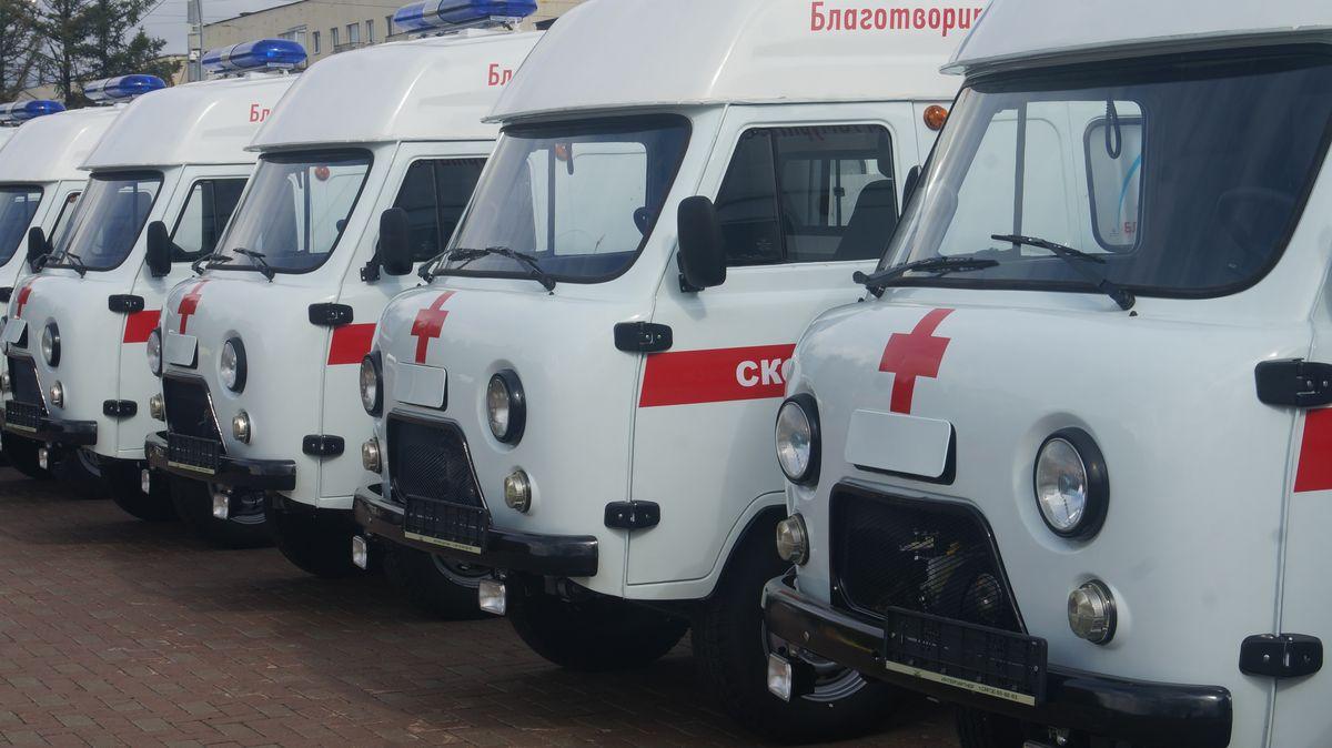 12 машин «скорой помощи» получит Удмуртия зимой нынешнего 2016г.