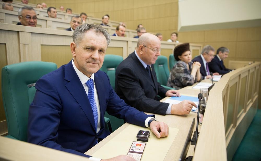 В Совете Федерации. Фото: council.gov.ru