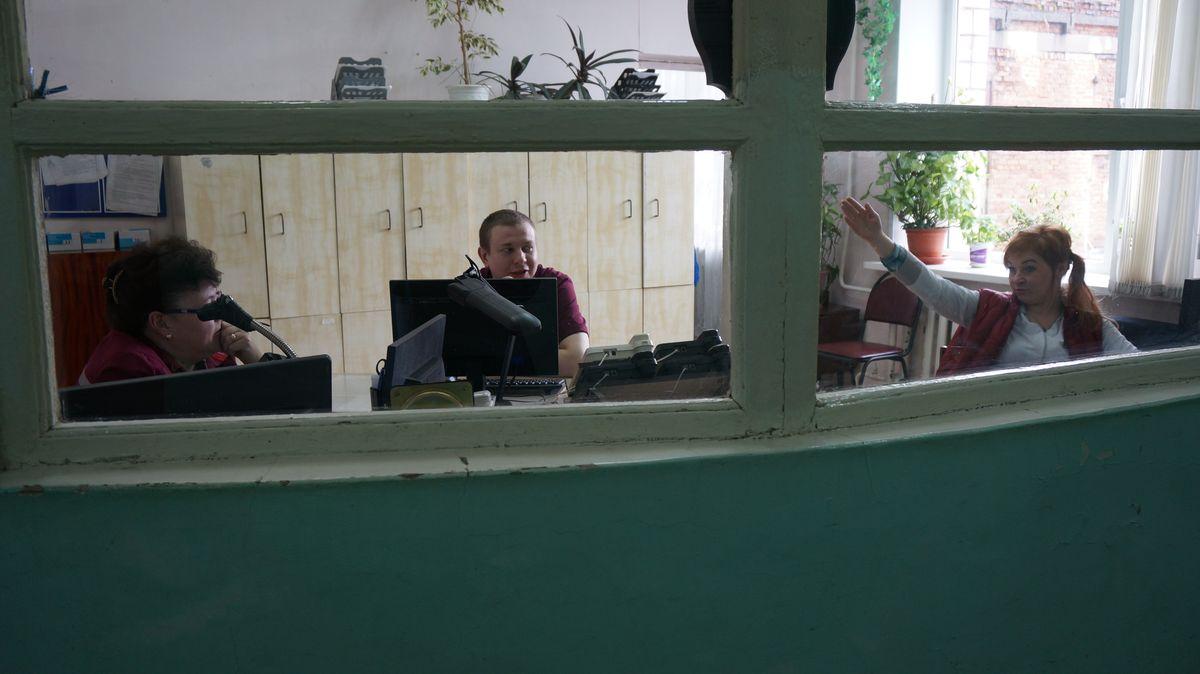 Диспетчерская служба станции скорой помощи в Сарапуле. Фото: © «ДЕНЬ.org»