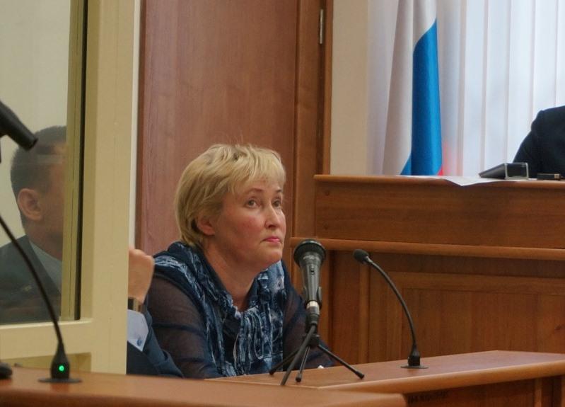 Супруга Ерохина. Фото: © «ДЕНЬ.org»