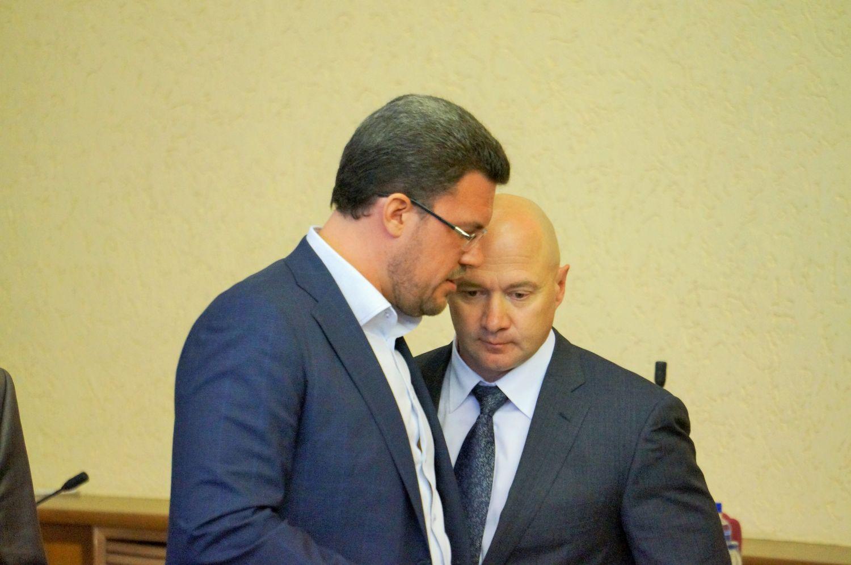 Денис Агашин и Сергей Климов. Фото ©День.org