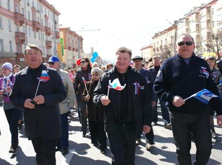 На фото: Андрей Гальцин (в центре)