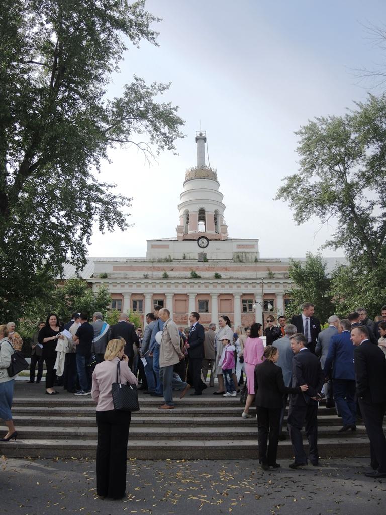 Главный символ Ижевска - старая башня главного корпуса завода. Фото ©День.org