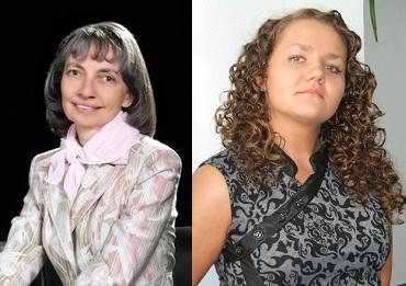 Наталия Беселева и Ирина Стерхова