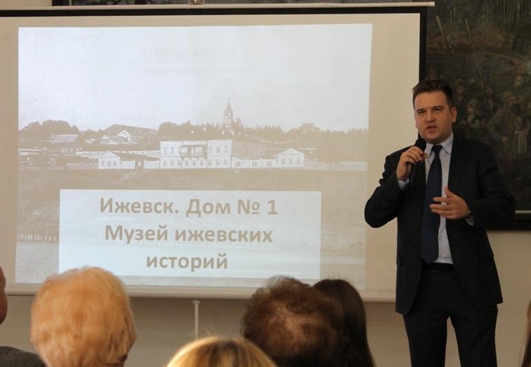 Замглавы администрации Ижевска Михаил Тарасов. Фото: © «ДЕНЬ.org»