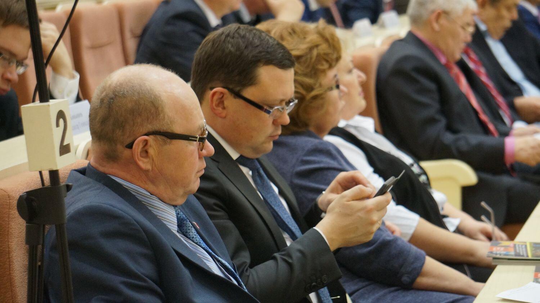 Олег Гуров (в центре). Фото: © «ДЕНЬ.org»