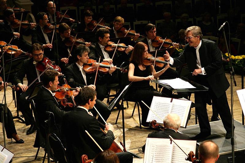 Большой симфонический оркестр им. Чайковского. Фото: burconcert.ru