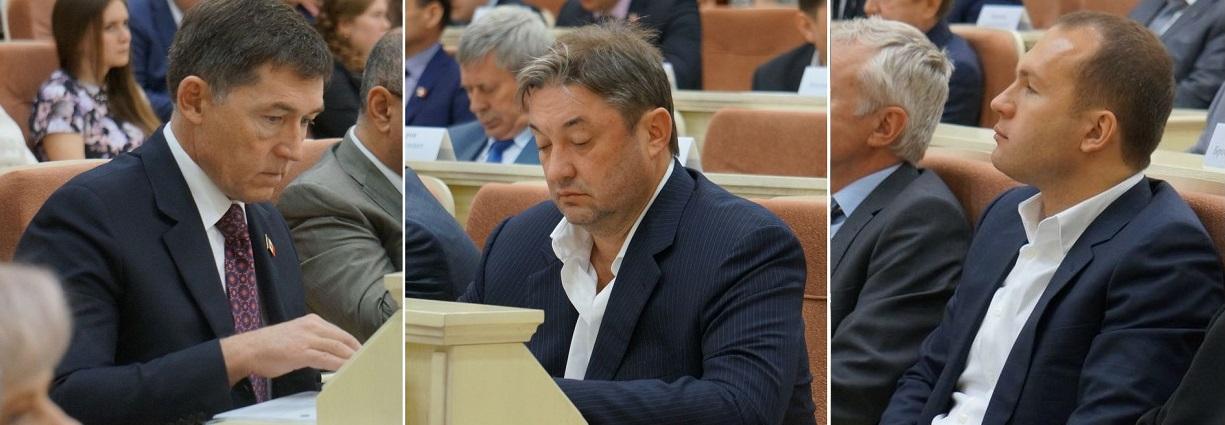 Андрей Шутов, Андрей Осколков, Алексей Чулкин. Фото: © «ДЕНЬ.org»