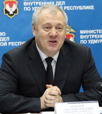 Министр внутренних дел УР Александр Первухин