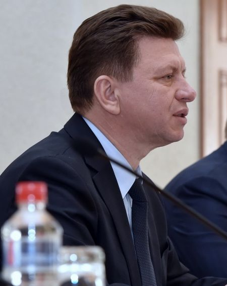 Премьер Виктор Савельев в марте часто был за и. о. главы УР.  Фото: «ДЕНЬ.org»