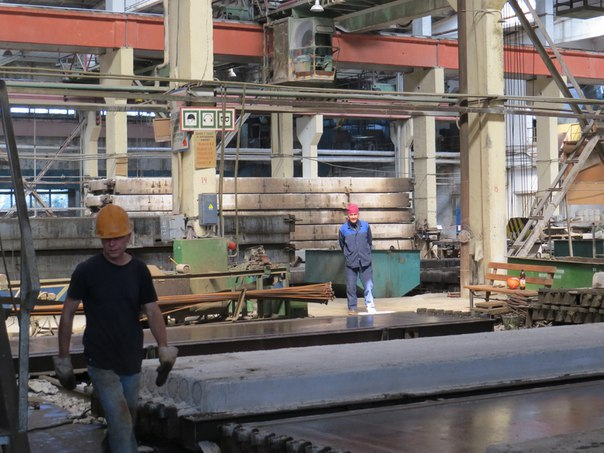 Завод ЖБК ОСПАО «ЧУС». Фото: со страницы группы «Город Глазов» в «ВКонтакте».
