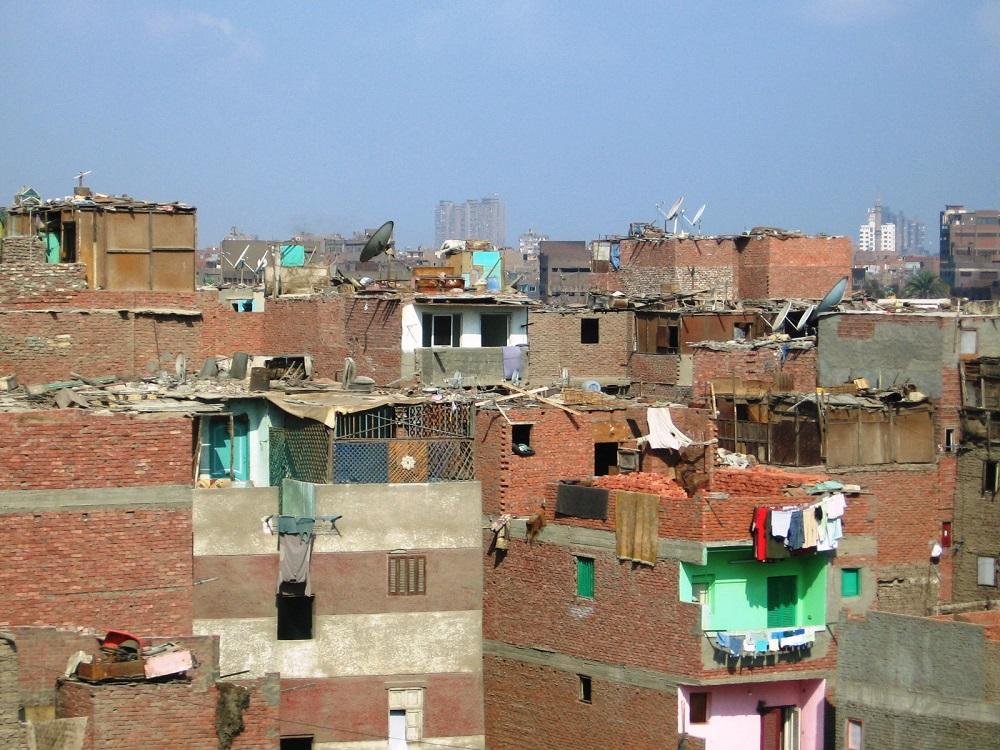 Все, как у нас, — «безголовые» дома в Каире. Фото: 75.r.photoshare.ru