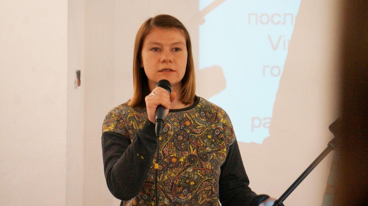 Александра Вишнякова. Фото: © «ДЕНЬ.org»