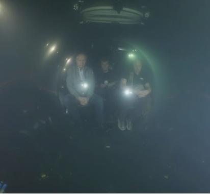 Кадр из видео погружения. Источник: kremlin.ru
