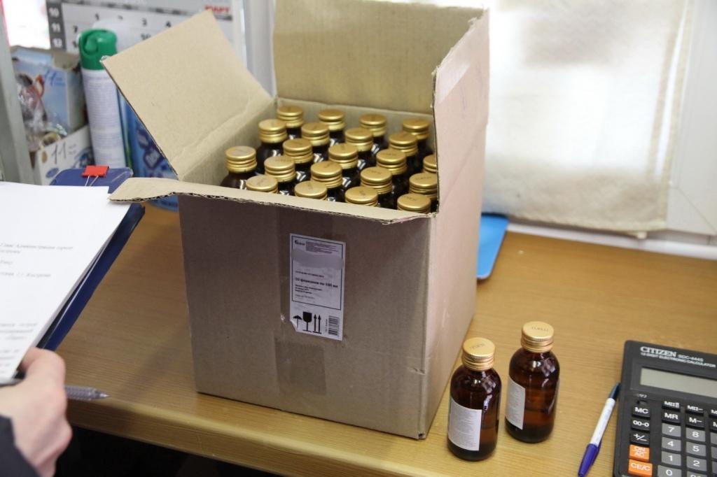 ВУдмуртии обнаружили незаконную реализацию неменее 76 литров спиртосодержащей продукции