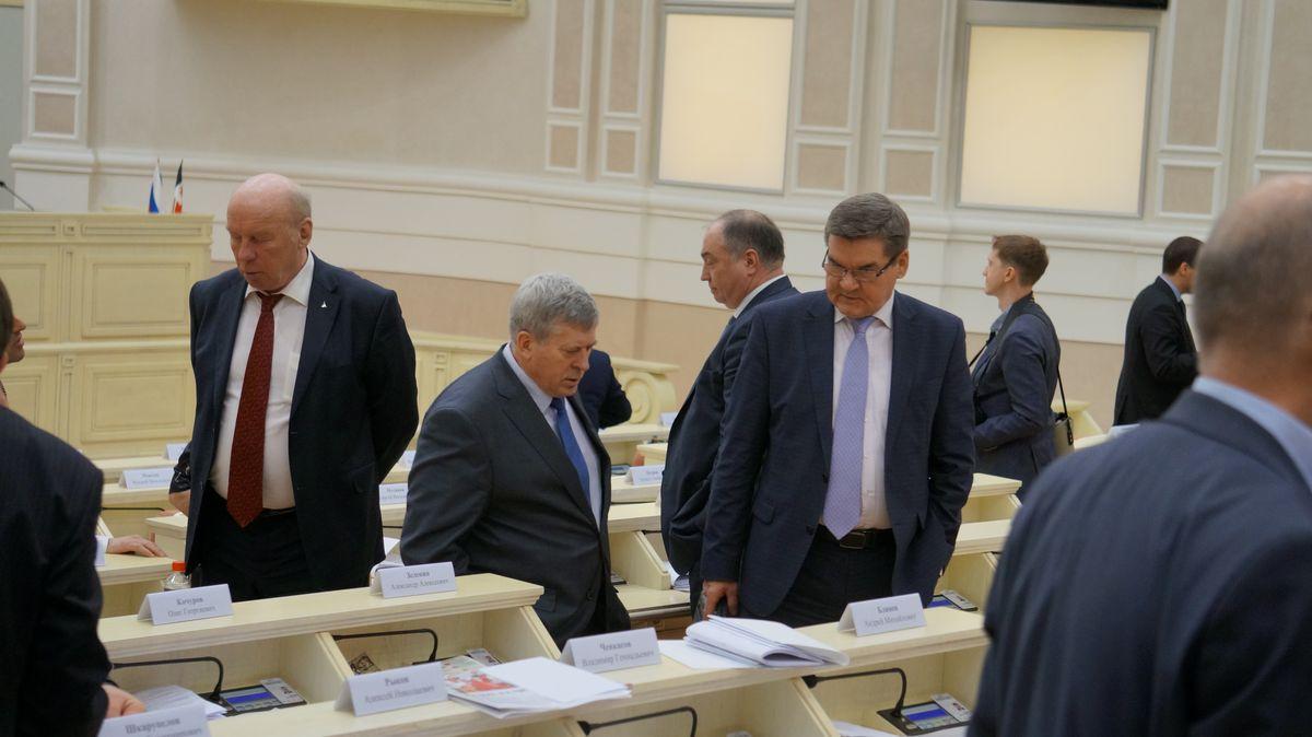 Сергей Мусинов (слева). Фото: © «ДЕНЬ.org»