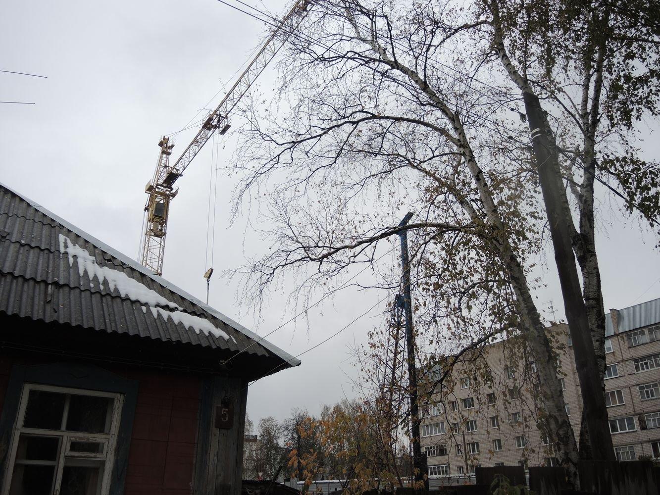 Стройка на ул. Л. Толстого. Фото: ©День.org