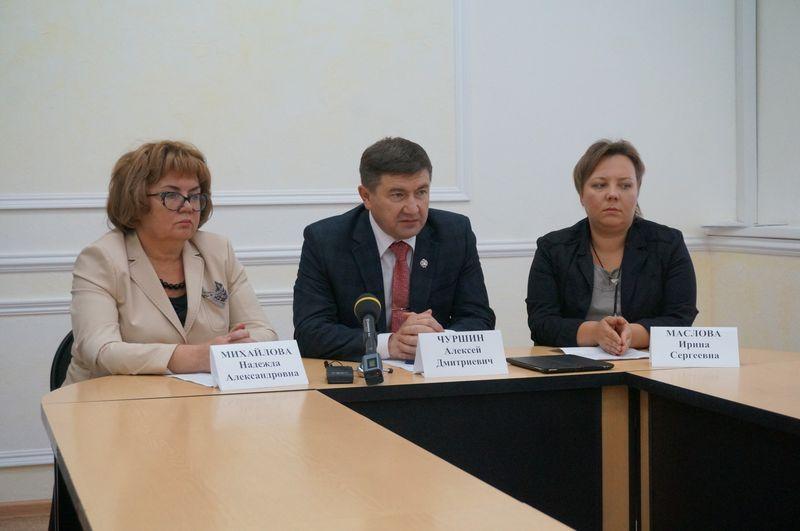 Надежда Михайлова, Алексей Чуршин, Ирина Маслова. Фото: ©День.org