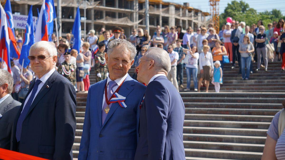 Александр Волков и Александр Ушаков. Фото: © «ДЕНЬ.org»