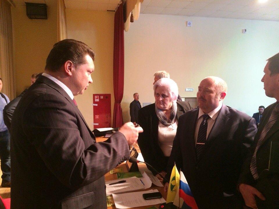 Константин Каравайный и Бронислав Ясонов. Фото: «ДЕНЬ.org»