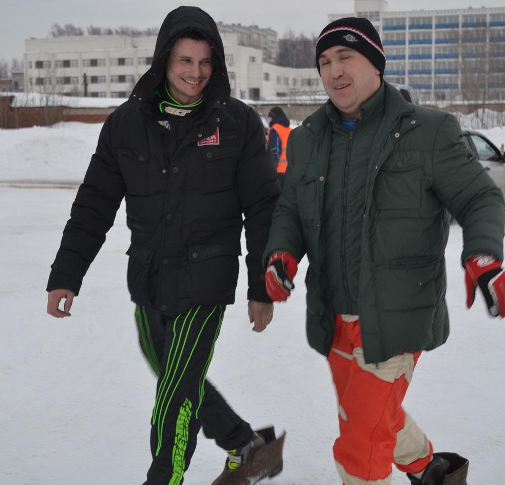 Дмитрий Брагин и Рафаэль Фаттахов. Фото: Александр Поскребышев