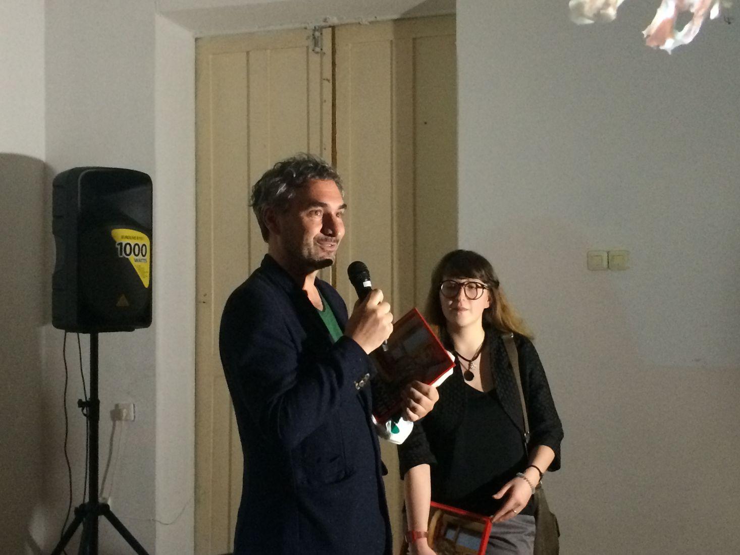 Петер Эршманн и Алла Акчурина.Фото: © «ДЕНЬ.org»