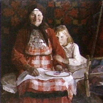 Ковровщица Дарья Курбатова из Баграш-Бигры