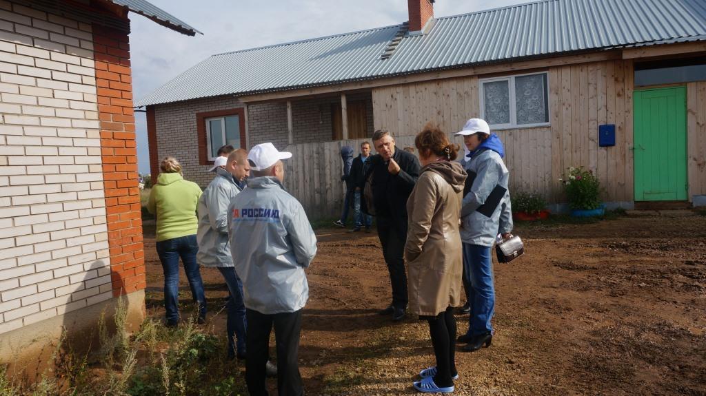 Дома в Малой Пурге. Фото: © «ДЕНЬ.org»