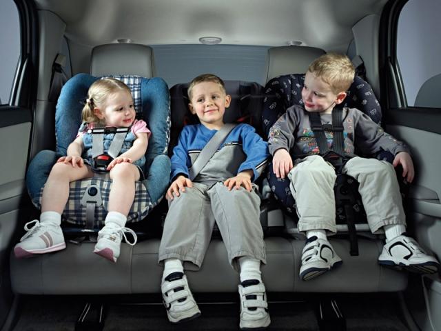 Данная фотография, к сожалению, является не более, чем рекламой детских кресел. фото: kidsreview.ru