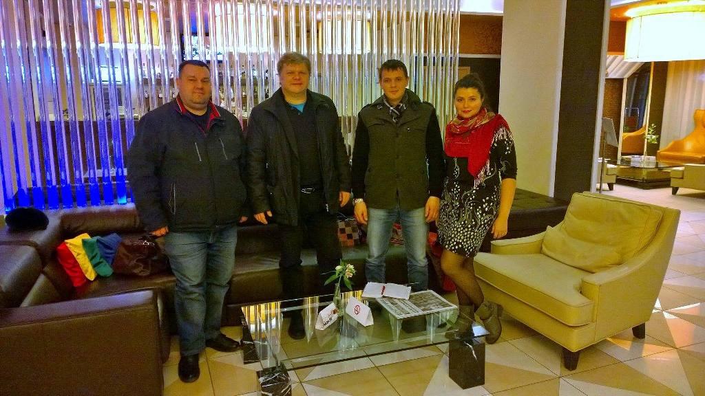Сергей Митрохин прилетел в Ижевск вечером 4 ноября. Фото: facebook.com (Софья Русова)
