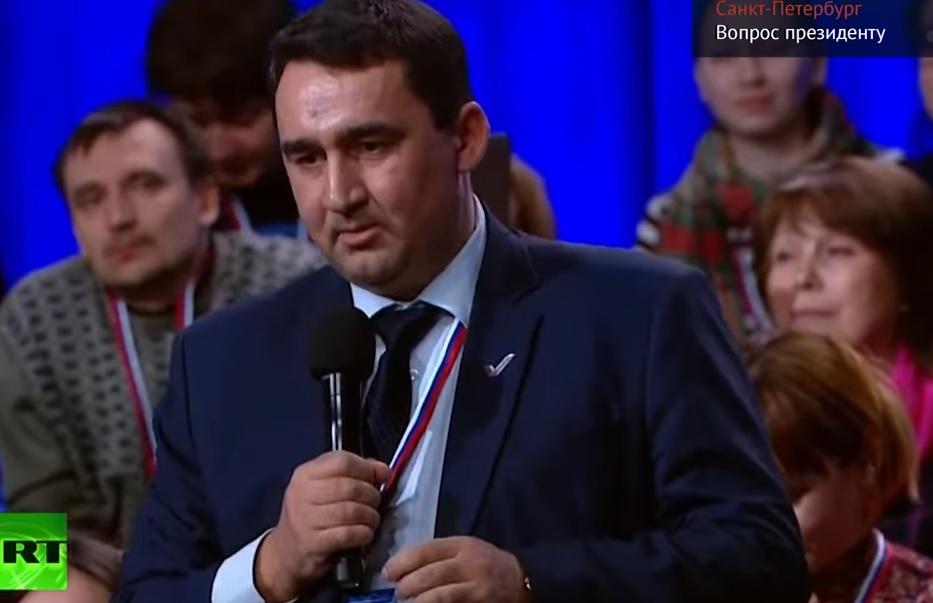 Корреспондент изСарапула попросил В.Путина посодействовать расселить граждан Симонихи
