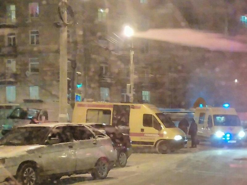 3-х пешеходов сбил шофёр автомобиля «Валдай» вИжевске