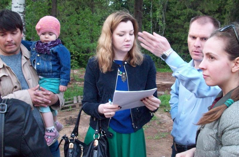 Сбор подписей в защиту леса. Фото ©День.org