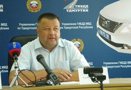 Бывший начальник Управления ГИБДД МВД по УР полковник полиции Альберт Галимов