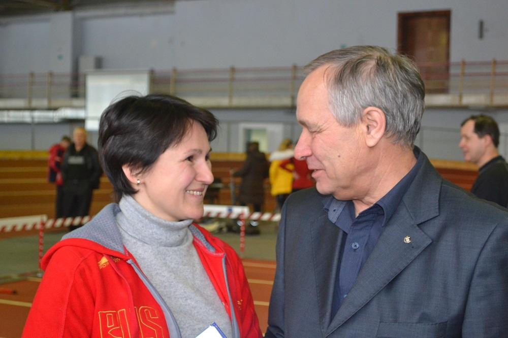 Наталья Падерина и Владимир Лукин. Фото: Александр Поскребышев