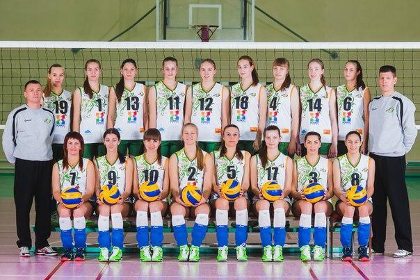 Женская волейбольная команда «Италмас-ИжГТУ». Фото: vk.com (Алексей Промышленников)